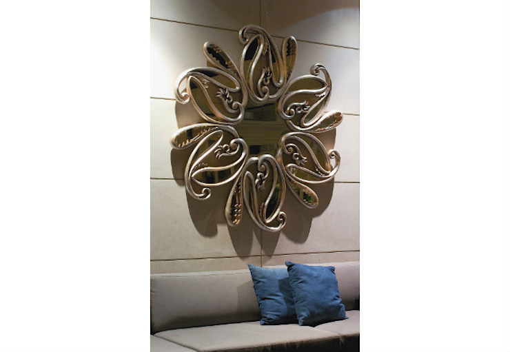 Mirror Costa Del Sol: eclectic  by Adonis Pauli HOME JEWELS, Eclectic