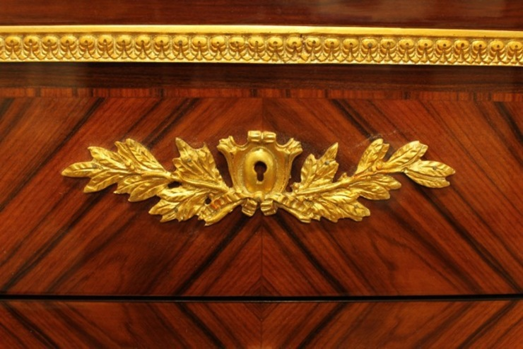 Rokoko Kommode Louis XV Antik Stil MeKm1012Rt von bei LouisXV Klassisch