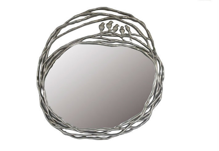 Mirror Love Nest: eclectic  by Adonis Pauli HOME JEWELS, Eclectic