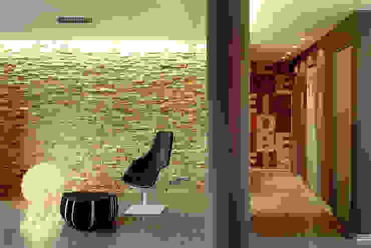 casa degli orti Soggiorno moderno di sinapsiarchitettura |giacomo airaldi architetto Moderno