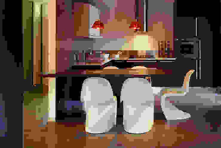 casa degli orti Cucina moderna di sinapsiarchitettura |giacomo airaldi architetto Moderno