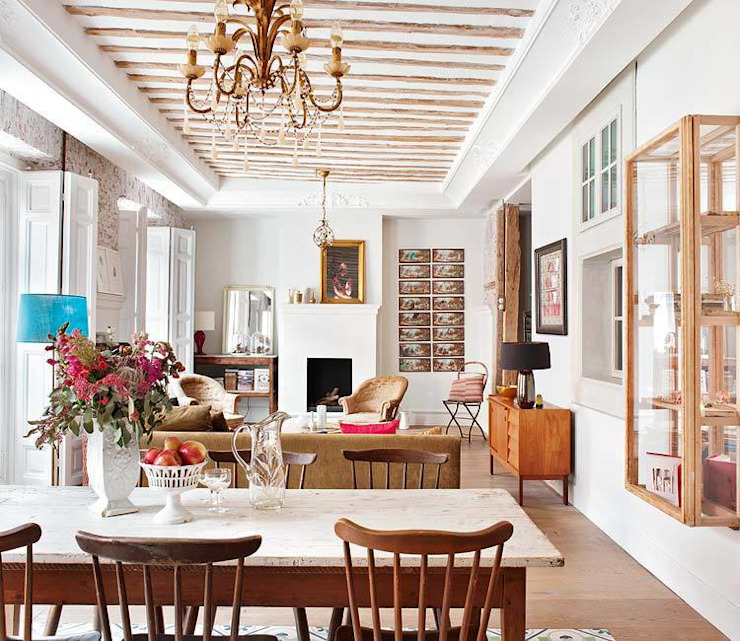 Eclectic style dining room by Simetrika Rehabilitación Integral Eclectic