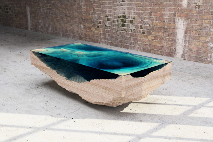 THE ABYSS TABLE par Duffy London Éclectique