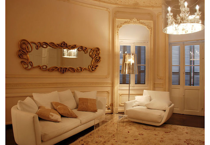 Mirror Versailles: eclectic  by Adonis Pauli HOME JEWELS, Eclectic