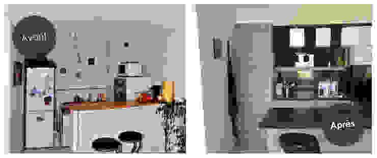 Aménagement d'une cuisine à Lardenne (31) par Audrey Ardalan