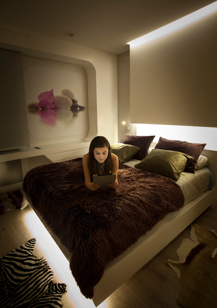 Interiorismo vivienda JA Casas de Disev Arquitectura