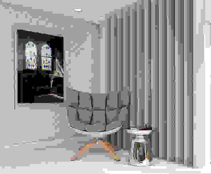B&B Italia armchair 3d visual homify Modern