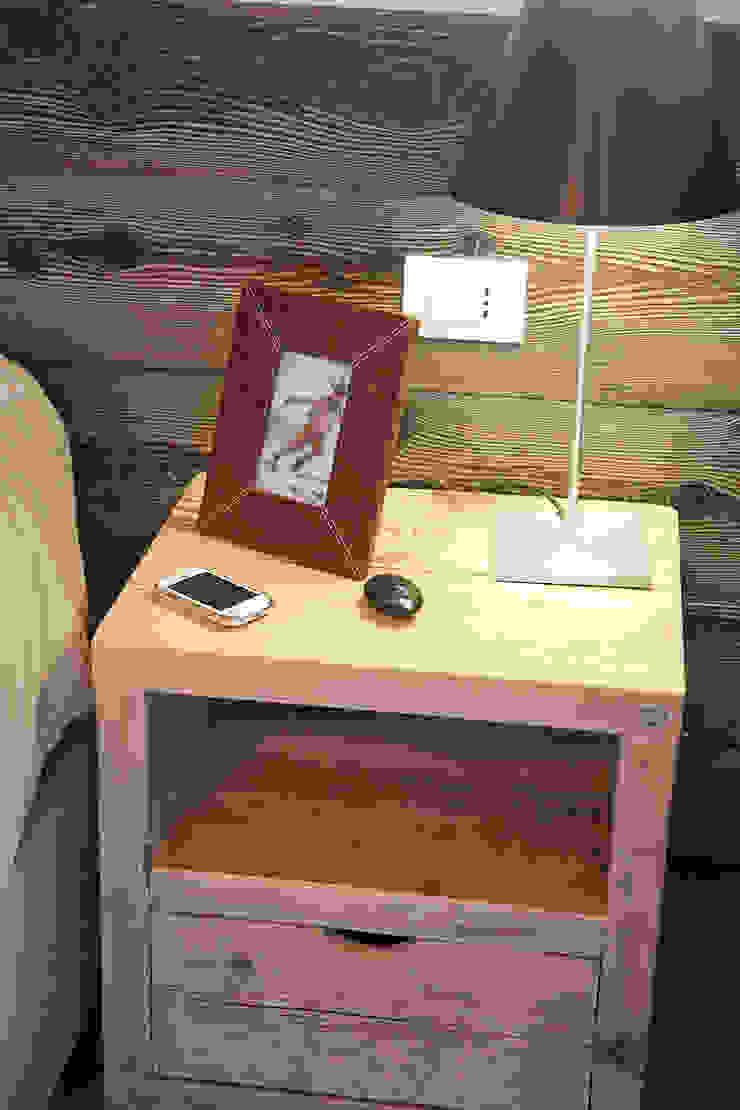 Dettagli décor Camera da letto moderna di STUDIO PAOLA FAVRETTO SAGL Moderno Legno Effetto legno