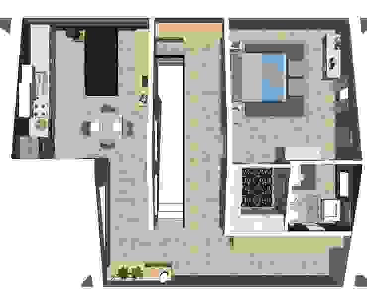 Abitare in mansarda di Studio di Progettazione e Interior Design Cinzia Simonini
