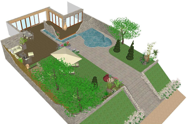 Interior design by Studio di Progettazione e Interior Design Cinzia Simonini