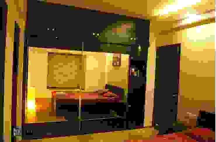Rajshree Sanjay-NeoTown, EC Modern style bedroom by Interiors by ranjani Modern