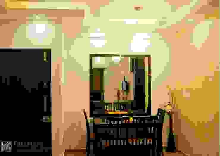 Rajshree Sanjay-NeoTown, EC Modern dining room by Interiors by ranjani Modern