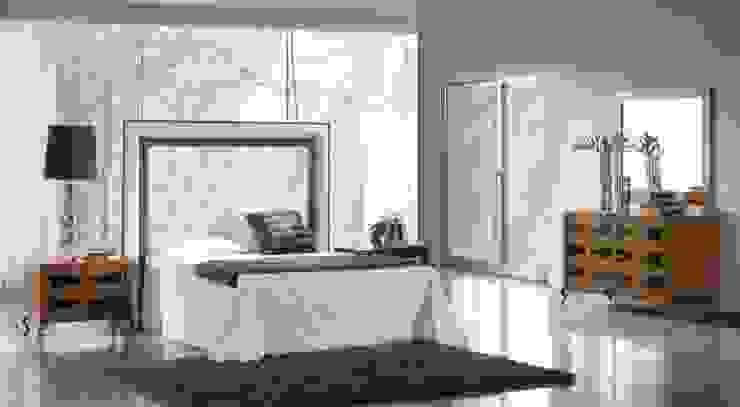 Dormitorio Art Decó Keren de Paco Escrivá Muebles
