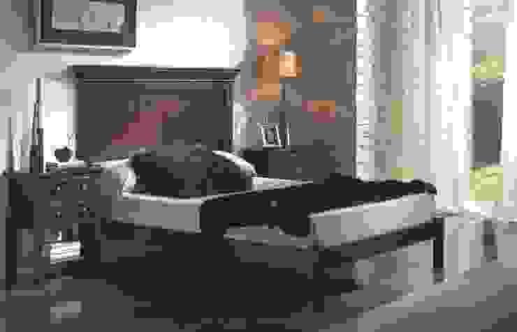 Dormitorio Clásico Nogal Bianca de Paco Escrivá Muebles