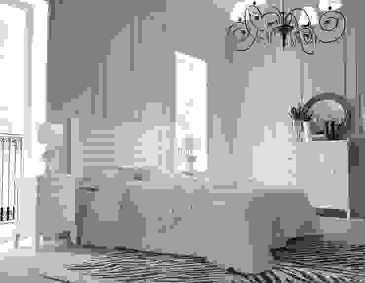 Dormitorio Vintage Blanco de Paco Escrivá Muebles