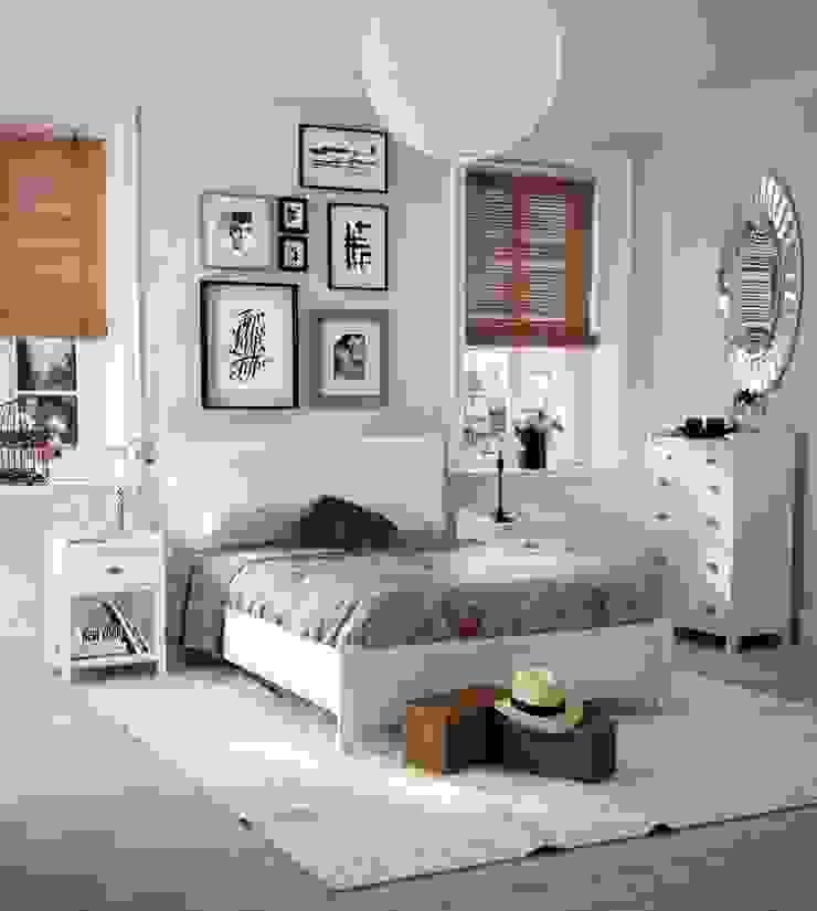Dormitorio Vintage Verona de Paco Escrivá Muebles