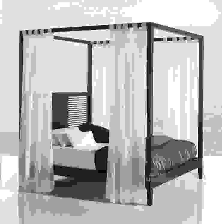 Dormitorio Moderno Aranda Cama Dosel de Paco Escrivá Muebles