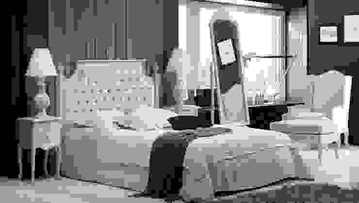 Dormitorio Clásico Blanco Danerys de Paco Escrivá Muebles