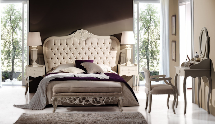 Dormitorio Vintage Blanco Robert de Paco Escrivá Muebles