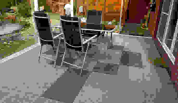 WINTER GARDEN OR VERANDA WARCO Bodenbeläge Modern Terrace