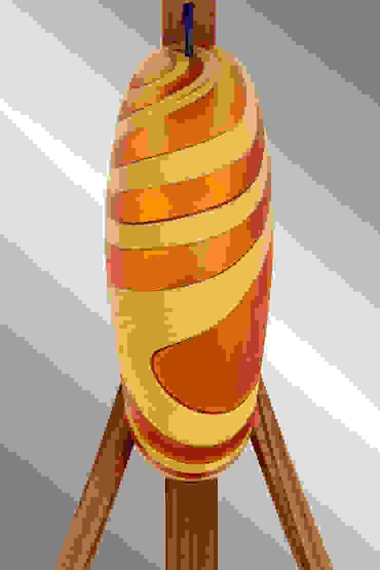 Lampada Spinnaker - Dettaglio del vetro di fronte di DIMISCO