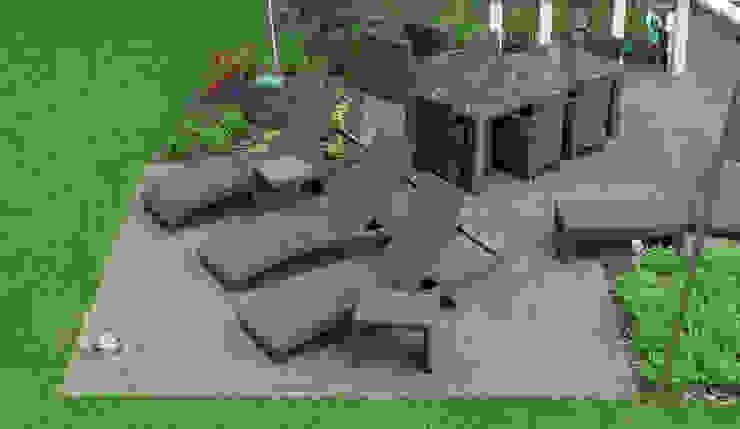 Die Terrasse Im Garten Von Warco Bodenbelage Homify