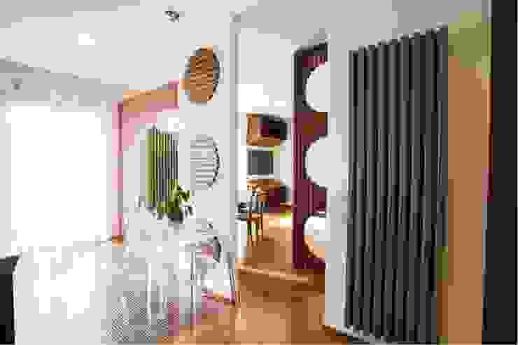Modern dining room by STUDIO DOTT. ARCH. GIANLUCA PIGNATARO Modern