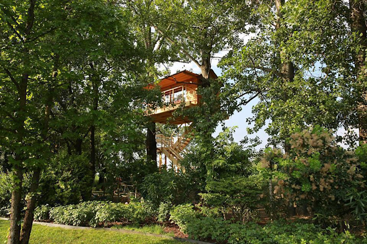 Treehouse di Nicola Preti - Architecture, Planning and Preservation- Rurale