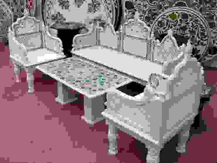 Luxury Marble Sofa- MS001:  Garden  by Anzalna Trading Company