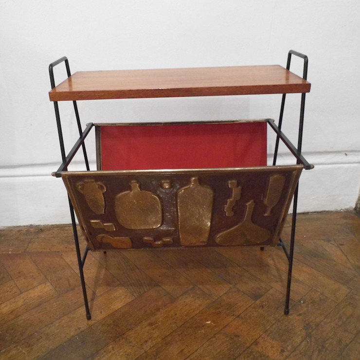 Mid Century Magazine Rack: modern  by Travers Antiques, Modern