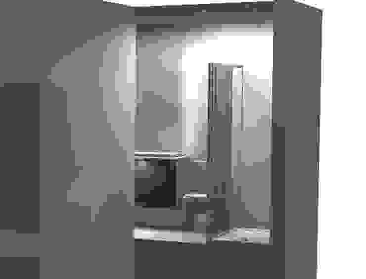 3D BAÑO:  de estilo industrial de DECOBA 2000, Industrial