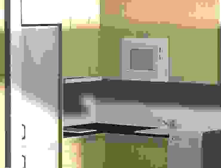 3D COCINA:  de estilo industrial de DECOBA 2000, Industrial