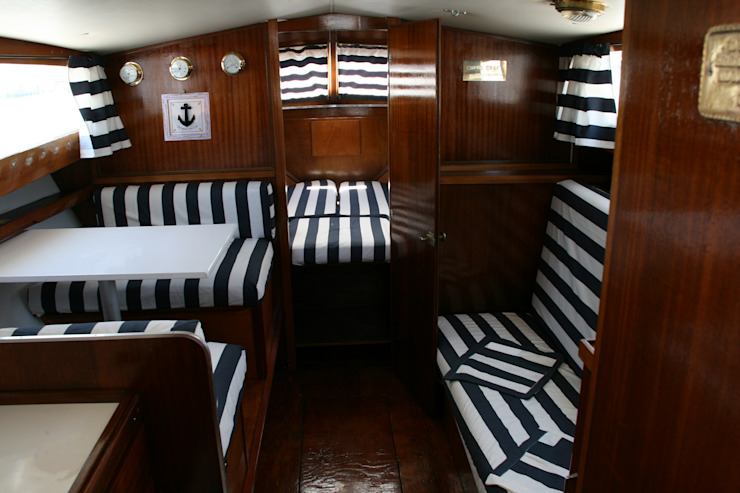 The captain's word is Law Yacht & Jet in stile coloniale di Laura Marini Architetto Coloniale
