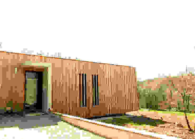 Maison P Maisons modernes par Yann Ouvrieux Architecte Moderne