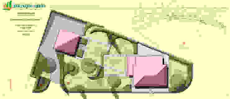 due giardini in uno di Studio Progetto & Giardino Mediterraneo