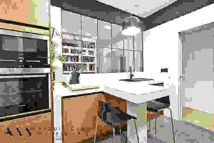 Nhà bếp phong cách hiện đại bởi Arquitectos Madrid 2.0 Hiện đại