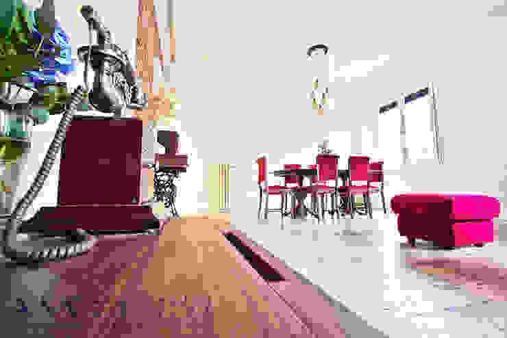 Phòng ăn phong cách hiện đại bởi Arquitectos Madrid 2.0 Hiện đại