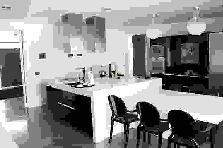 Cocina diseño minimalista Cocinas de estilo moderno de Arquitectos Madrid 2.0 Moderno