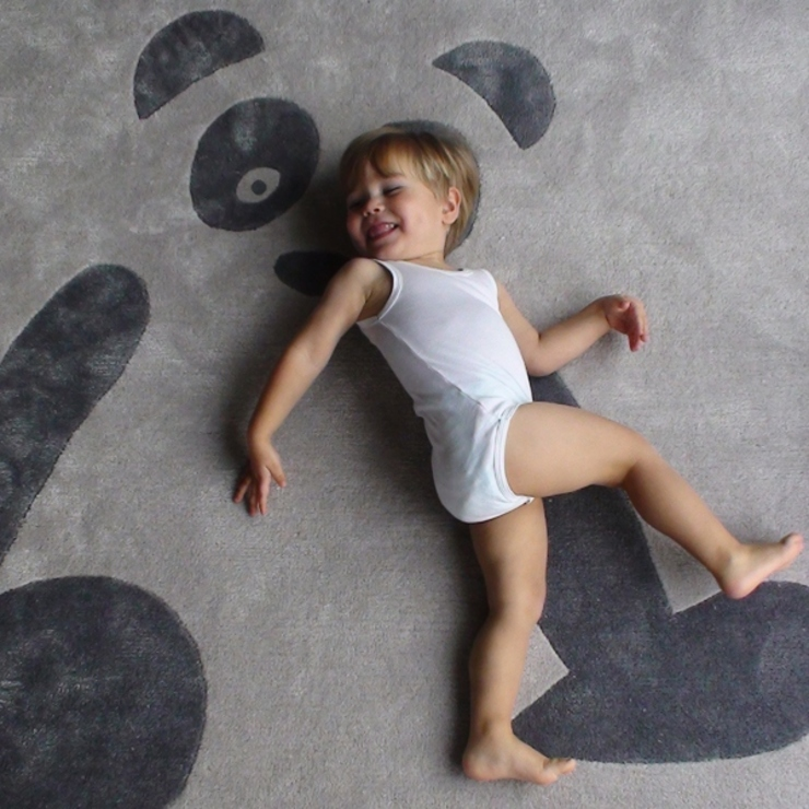 Tapis panda - Art For Kids par Le Pestacle de Maëlou Éclectique