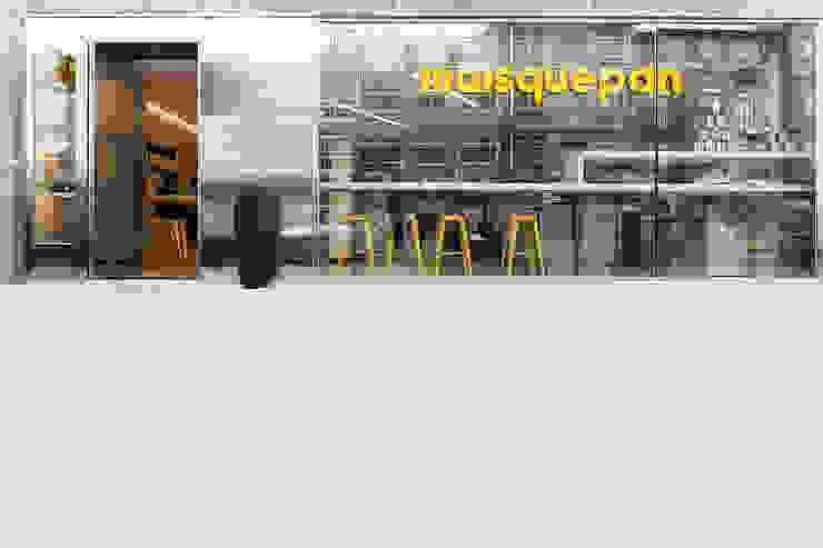 Panadería Maisquepan Gastronomía de estilo moderno de Nan Arquitectos Moderno