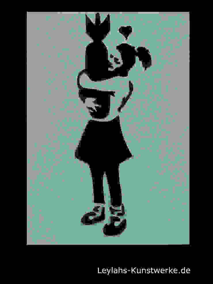Banksy - Menschen Artikel von Leylahs-Kunstwerke