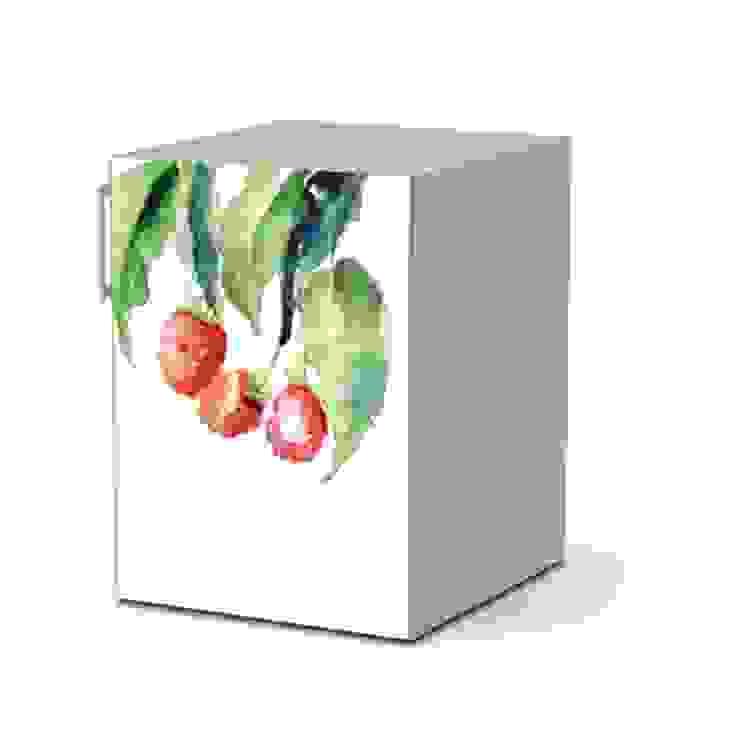 Kühlschrankfolie - Raspberries Drawing: modern  von homify,Modern
