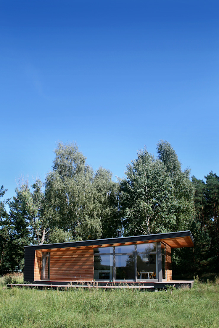 por SOMMERHAUS PIU - YES WE WOOD Escandinavo Madeira Efeito de madeira
