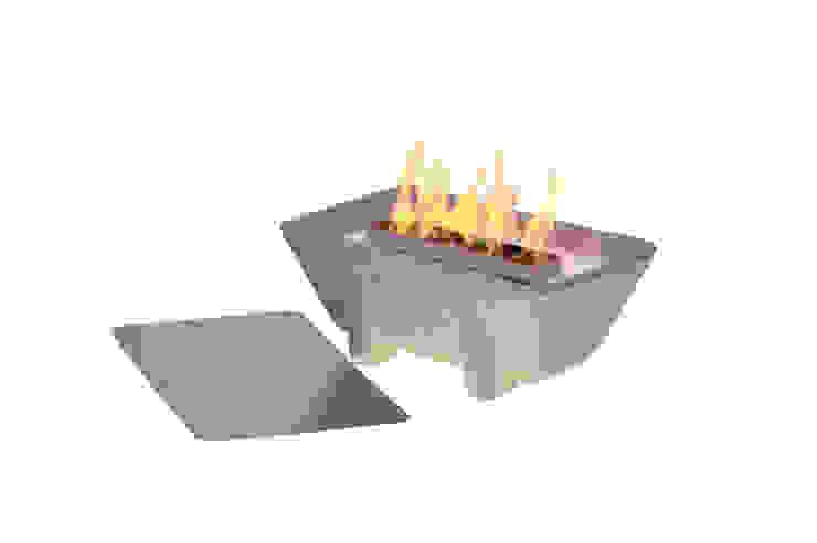 Schmelzfeuer Outdoor XL Granicium: modern  von Denk Keramische Werkstätten,Modern