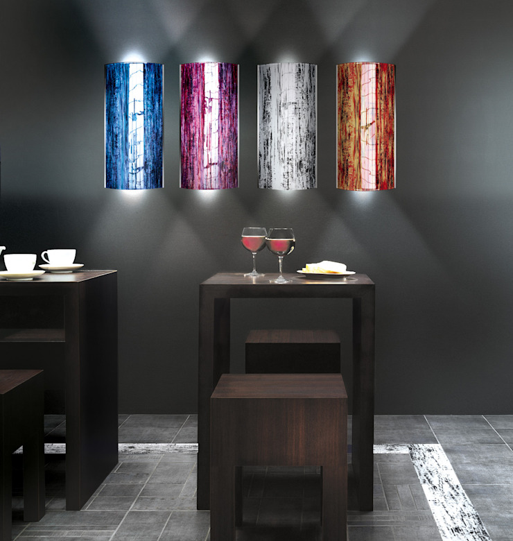 Eclectic style houses by VETRO VIVO Eclectic