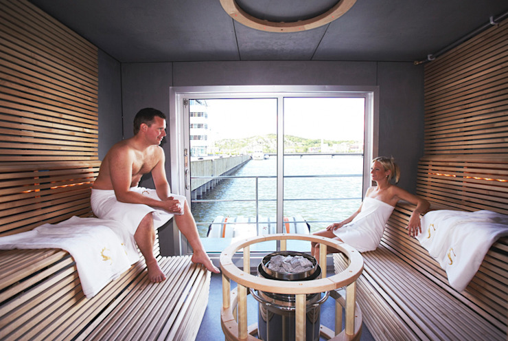 Bespoke sauna por Leisurequip Limited