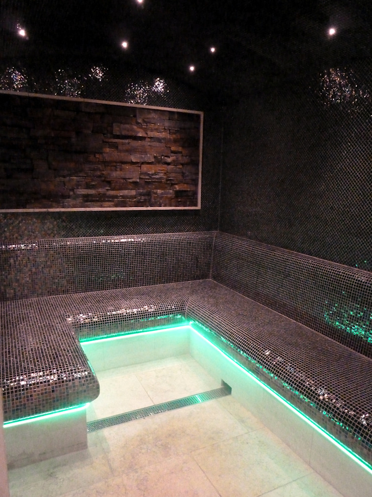 Tiled steam rooms by Leisurequip Limited