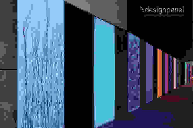Lichtwand in München: Hotel + Boardinghouse Schiller 5 Moderne Hotels von Designpanel - Elements for innovative architecture Modern