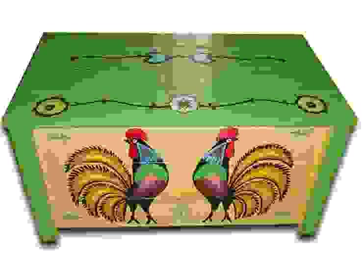 Die mit polnischen Volksmuster gemalten Kisten von Subtelności Ausgefallen