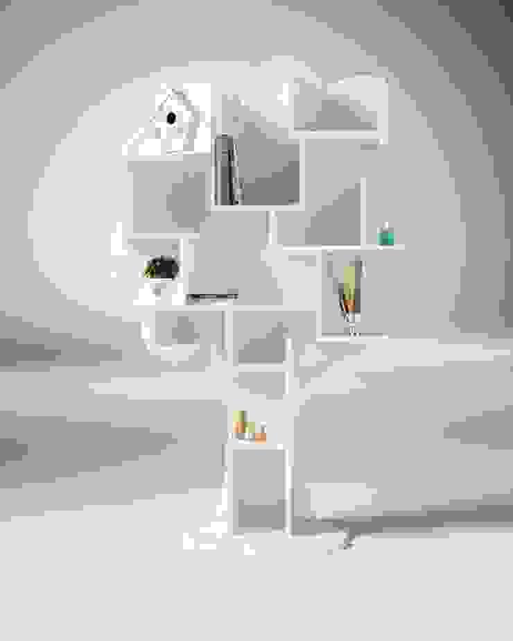 Bibliothèque arbre par Mathy by Bols Éclectique